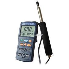 TES-1340  Digital Anemometer Air Wind Flow Meter Tester,Hot-Wire Anemometer