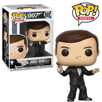 James Bond Roger Moore Funko Pop Vinyl Figure 007 Spy Who Loved Me Collectables