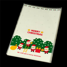 20PCS Christmas Gift Packaging Bag Diy Gift Bags Christmas Candy 11.8cm X 18cm