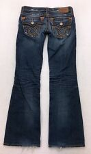 E140 Buckle Big Star LIV Low Rise Bootcut Stretch Jeans sz 26 (Mea 28x31 hem)