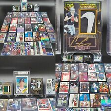 HUGE GRADED RPA 1/1 NIKE PATCH SWOOSH AUTO PRIZM SP ROOKIE CARD COLLECTION LOT