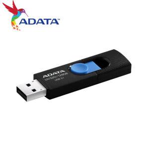ADATA UV320 128G Capless Design USB 3.1 USB Flash Pen Drive BLACK