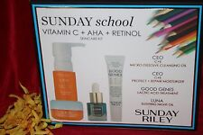 SUNDAY RILEY CEO MOISTURIZER CLEANSING OIL GOOD GENES LUNA SCHOOL NEW IN BOX