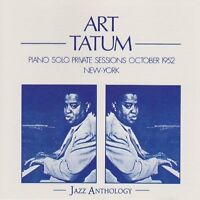 Art Tatum Piano solo private sessions October 1952, New-York (F, Jazz Ant.. [CD]