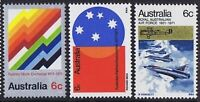 Australia Mint 1971 Stamps SET of 5x 6c Sixth Decimal Year Series variety Issues