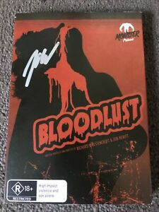Bloodlust DVD - With Autograph Slip Cover - Free Post