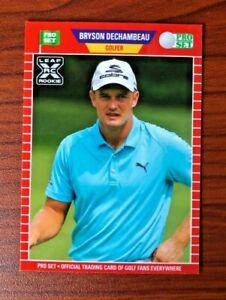 2021 Leaf Pro Set Golf XRC BRYSON DECHAMBEAU #PS9 ROOKIE CARD RC SP