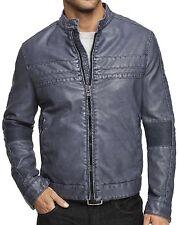 New EXPRESS Men's Faux Leather Biker Coat Jacket, nwot, XS, $200 ***LAST ONE***