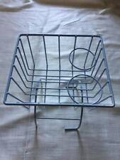 Classic VW Bug Beetle Tunnel Storage Basket Drinks Holder WHITE Ghia T1 Type 3