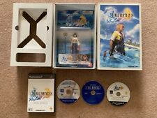 Final Fantasy X Promo Press Package With Yuna Figurine Playstation 2 PS2