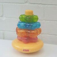 Fisher Price Star Stacker Light Sounds Stacking 2004 Textured  Educational Toy