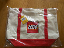NEW LEGO 5005326 Exclusive Canvas Tote Bag Factory Sealed
