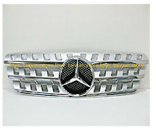 DHL -for Benz GRILLE GRILL W163 ML320 ML500 ML350 1998-2005 (With Emblem)-Chrome