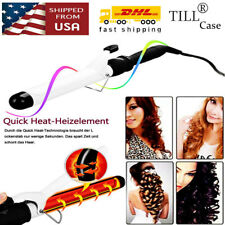 Hair Electric Spiral Curling Iron Wand Roller Pro Wave Curl Machine Curler Tools