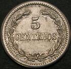 DOMINICAN REPUBLIC 5 Centavos 1877 XF/aUNC 346 ¤