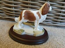 More details for vintage mounted best of breed cavalier king charles spaniel by naturecraft