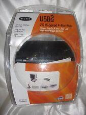 NEW Belkin F5U224 Hi-Speed USB 2.0 4-Port Hub