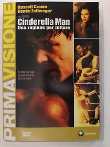 Cinderella Man. una Ragione per lottare (Drammatico, Sportivo) DVD Russell Crowe