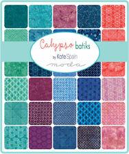 Calypso Batiks by Kate Spain for Moda Fabrics Charm Pack - Studio Cut