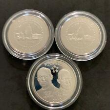 Lot Of 3 2001 & 2013 US Mint Commemorate Half Dollar Coins No COA
