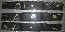 90-729 Set of 3 Lawn Mower Blades Exmark Toro Grasshopper Lawn Mowers