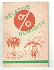 Relative Humidity 1954 Hammermill Paper Co Erie Pa Booklet for Printers