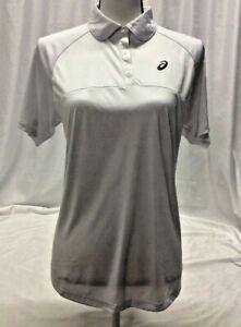 Asics Tennis CLUB POLO Women's Athletic Shirt Motion Dry White XS Retail $50