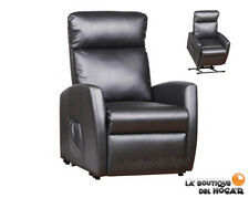 Sillón de Masaje Relax Levantapersonas Modelo Comfort 2015 color Negro