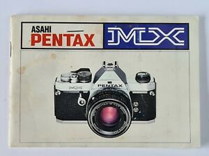 Pentax MX Original Camera Instructions Operations Manual