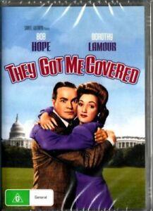 They Got Me Covered DVD Bob Hope New and Sealed Australia