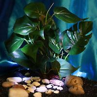 Aquarium Kunstpflanze Künstliche Wasserpflanze Kunststoff Deko Grün Giftlos`Gift