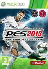 Pro Evolution Soccer 2013 PES 13 Microsoft Xbox 360 PAL Brand New FACTORY SEALED