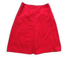 Vintage 70's Pink Midi Skirt Retro Boho Mod 8