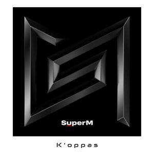 SUPER M 1st Mini Album SUPERM CD+Booklet+Mini Booklet+Random Card+Poster Kpop