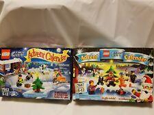 Lego 7553 and 7687 City Advent Calendar