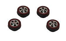 20 juego mezcla 6 Radios Ruedas Samed Premium ruedas de goma para coches HW 1:64
