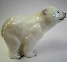 New boxed JOHN BESWICK Polar Bear Cub ceramic ornament figure JBAB1 10cm, 4""