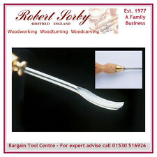 ROBERT SORBY 5010 Robert Sorby 5mm Bent Gouge Micro Carving Chisel