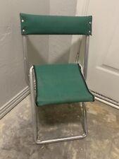 Vintage Safari Trail camp Chair Folding Lightweight Aluminum Canvas