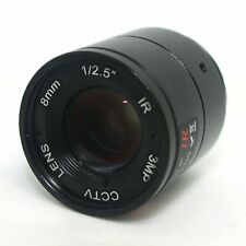 """8mm / F1.4 HD 3MP 1/2.5"""" Inch IR Night Vision Lens for CCD CCTV Security Camera."""