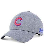 Chicago Cubs MLB Under Armour UA Twist Adjustable Snapback Hat Gray OSFM