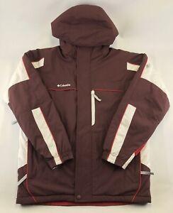 Vtg Columbia Jacket Hood RN69724 CA05367 Winter Ski Sports Insulated Mens Medium