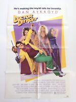 "Doctor Detroit 1983 Original Movie THEATRE Poster Folded 41""X27 Dan Aykroyd NSS"
