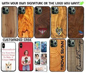 For Apple iPhone 13/13 Pro/13 Pro Max/13Mini  Personalized Case Wood Grain Cover