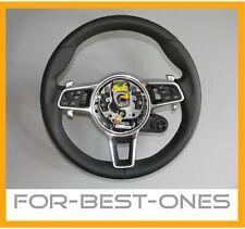 NEU Porsche Cayenne 9Y0 Panamera 971 911 991 718 Leder Lenkrad steering wheel