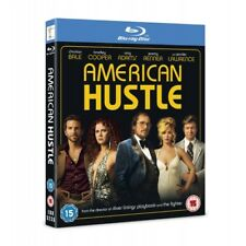 American Hustle Blu-ray 2013 Very Good DVD Christian Bale Amy Adams Brad