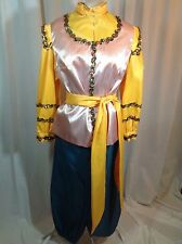 Pirate Women's (size small) Mardi Gras Rider's Costume Top and Pants, Handmade
