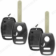 2 Replacement for Honda Fit Odyssey Ridgeline Remote Car Key Fob Shell Case