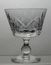 "Stuart Crystal ""Glengarry"" Dessert Bowl Ice Cream Dish"