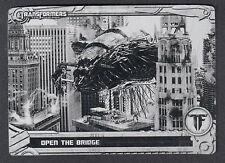 TRANSFORMERS OPTIMUM COLLECTION (Breygent) METAL PRINTING PLATE CARD #59 BLACK